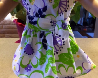 Summer dress for 18 inch dolls, 18 inch doll dress, fits dolls like American girl dolls, doll dress, 18 inch doll clothes, doll outfits