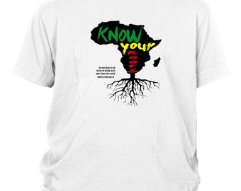 Know Your Roots Kids Tee - Martin Luther King Quote Roots Martin Luther King Quote Black History Month History Heritage
