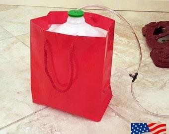 Santas Secret Gift™ Christmas Tree Waterer (Rudolph Red)