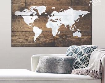 Medium World Map