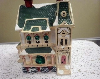 Dept. 56 Snow Village Ramsey Hill House