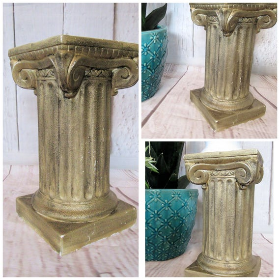 Items Similar To Pedestal Column Plant Stand Greek Column