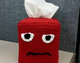 Angry Tissue Box Cover (Square)