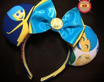 Inside Out Mickey Ear Headband - Customize to your favorite character!