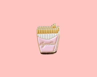 Enamel Pin / Lapel Pin - Cigarettes