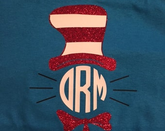 Dr. Seuss with Monogram for Adults