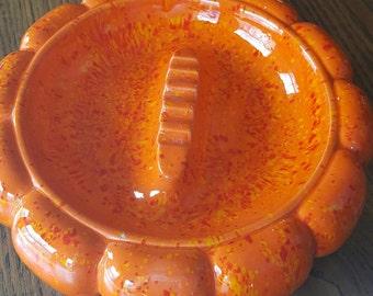 1970s centerpiece ashtray