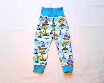 Baby trousers / pants Mitwachsen Gr. 74