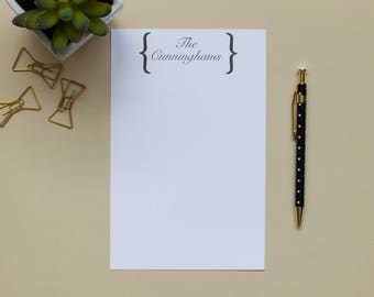 Personalized Name Notepad