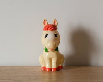 Pony coin bank