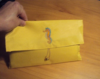 Yellow Clutch Purse/Bible Carrier 096
