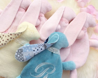 Baby toy - Baby doudou - Sleeping toy - Warming toy - Rabbit