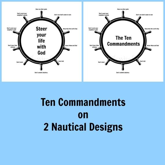 Ten Commandments Printable, Catholic Education, Christian Education, Religious Prints, 10 Commandments