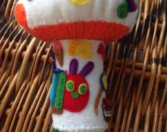 Hungry caterpillar tooth fairy toadstool