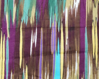 """Dressmaking Fabric, Abstract Print, Quilt Material, Home Decor Fabric, Cotton Fabric, Sewing Craft, 42"""" Inch Fabric By The Yard ZBC7194A"""