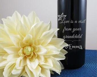 Personalized Travel Mug, Custom Travel Mug, Travel Mug, New Grandma, Gift for grandma, Customized Coffee Mug, Christmas gift,Customized gift