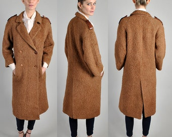 1970's Authentic Vintage Gucci Alpaca wool coat made in Italy                                       A4