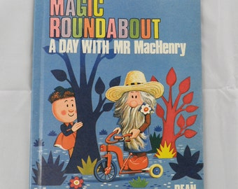 Vintage Magic Roundabout Book - A Day With Mr MacHenry