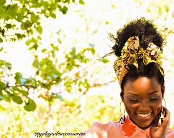 African headwrap, headwrap, bandana, Ankara, African clothing, African headband, headband