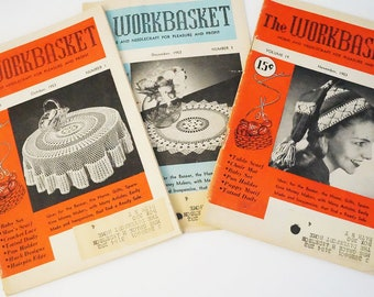 Knitting Patterns/Crochet Patterns/Workbasket/50's Patterns/Tatting Patterns/Vintage Knitting Patterns/Workbasket Patterns/Vintage Patterns