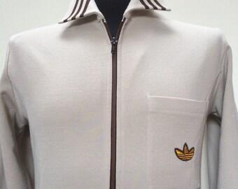 1960s ADIDAS SCHWAHN Made in West GERMANY Vintage Training Jacket
