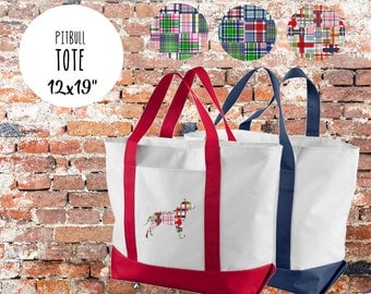 Pitbull 3 Tote Bag