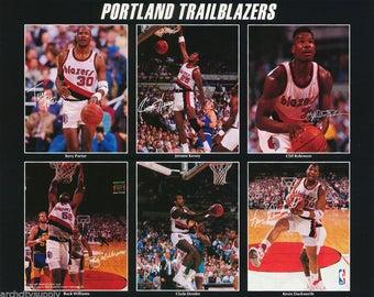 Portland Trailblazers 1990  Poster