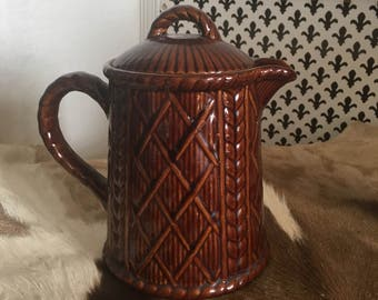 Taunton Vale Howard Brown Coffee Pot