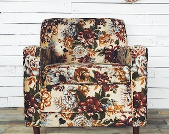 Floral Surf Chair