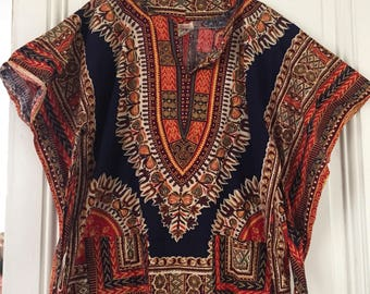 Top festival vintage ethnic hippie gypsy taille S