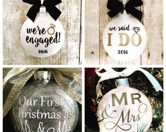 Mr. & Mrs. Ornaments