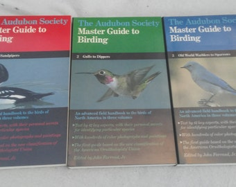 The audubon society master guide to birding in 3 volumes
