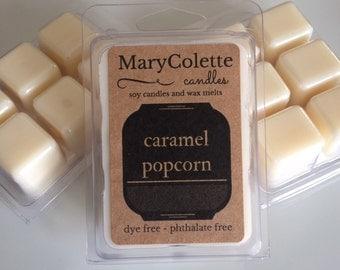 Caramel Popcorn Soy Wax Melts | Soy Wax Melts | Caramel Popcorn | Wax Melts