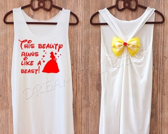 Belle  Princess Disney shirts :Disney tank tops /Disney tank top /Disney shirts for women/Disney shirts for kids / Disney family shirts