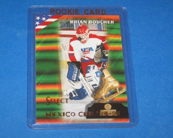 Vintage 1994-95 Select Rookie Card, Brian Boucher Card #155, Ex-Nm Condition.