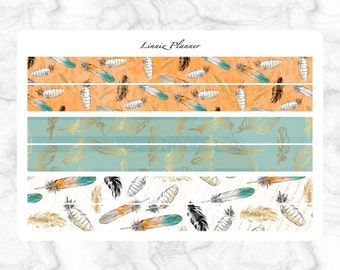 Native PERSONAL washi (matte planner stickers, Filofax, Kikki K, Websters Pages, Color Crush)