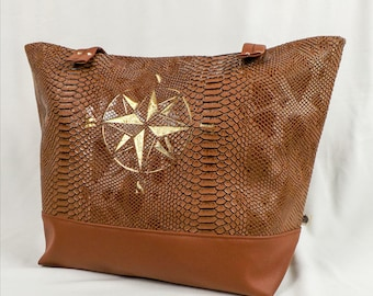 "Handbag Tote ""Tony"" carried hand or shoulder"
