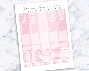 Printable Planner Stickers: 06 (Erin Condren Life Planner PDF)