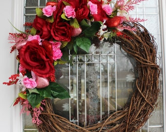 Sweet Heart Valentines Wreath