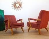 Sold!! Mid Century Retro Vintage Danish Style G Plan E Gomme Brandon Arm Chairs INTERNATIONAL Delivery Price Varies Please Message