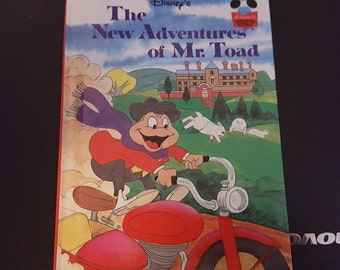 Disney The New Adventure Of Mr Toad 1983 printing