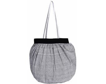 BACDA Handloom Cotton eco friendly Reusable Shopping Tote Bag