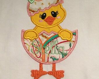 Easter Chick Girl's shirt
