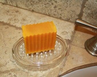 Lemongrass, HOMEMADE Soap, rich, lather bath soap, beauty bar, revitalizing, citrus clean fragrance,