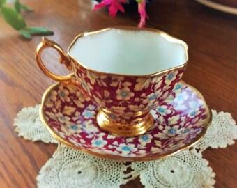 Royal Albert Chintz Teacup & Saucer