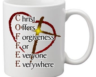 Coffee & Christ coffee mug