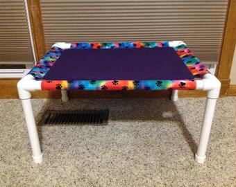 Fleece Cat Hammock, pet hammock, PVC pet bed, cat bed