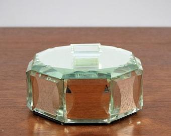 Small compact Art Deco - Ancient powder box