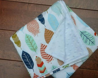 Boutique Minky Baby Blanket