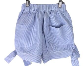 Handmade Linen shorts
